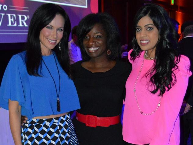 LeeAnne Locken,Cheryl Roseborough, Yasmeen Tadia, Renaissance Hotel Opening