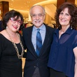 Roz and Alan Pactor, from left, with Donna Vallone at the Women of Distinction announcement party October 2014
