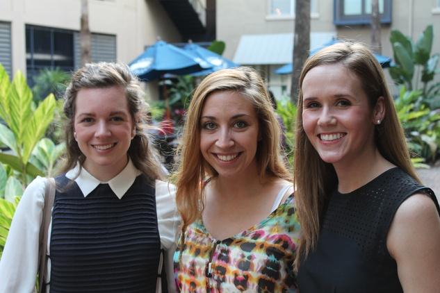 Houston, Ballet Barre Spring Social, May 2015, Sarah Sorenson, Trish Matute, Hannah Longergan