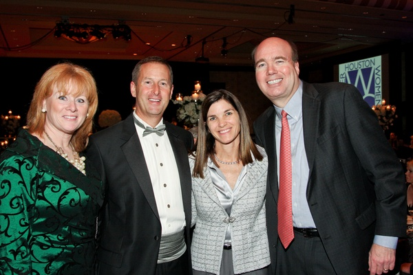 Greater Houston Women's Chamber of Commerce Gala, December 2012, Kathleen Murphy, Jim Murphy, Susan Kellner, Larry Kellner
