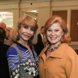 Susan Boggio, left, and Jan Duncan at the Huffington Center on Aging luncheon October 2014