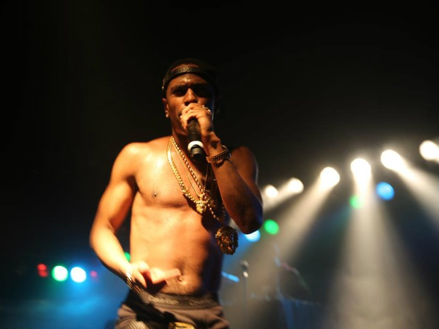 Big Sean onstage