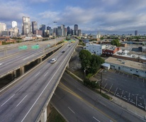 Dallas freeway, I-345
