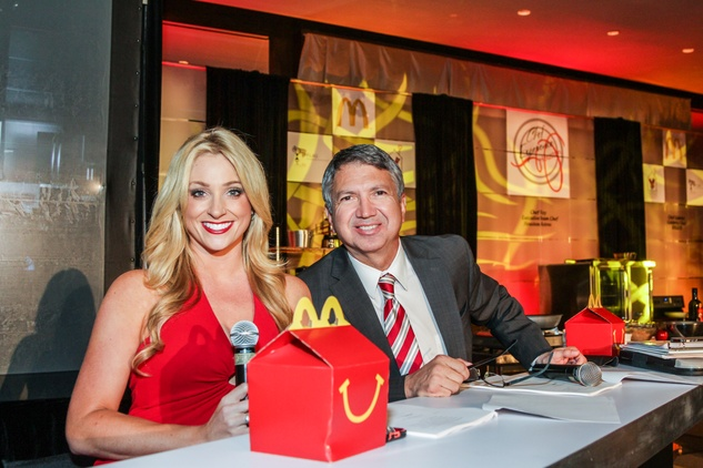 7261 Chita Johnson and Ron Trevino at the Ronald McDonald House Charities first fundraiser October 2014