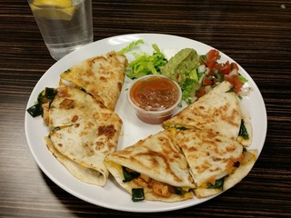 Quesadillas at Carver 150