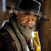 Samuel L. Jackson in The Hateful Eight