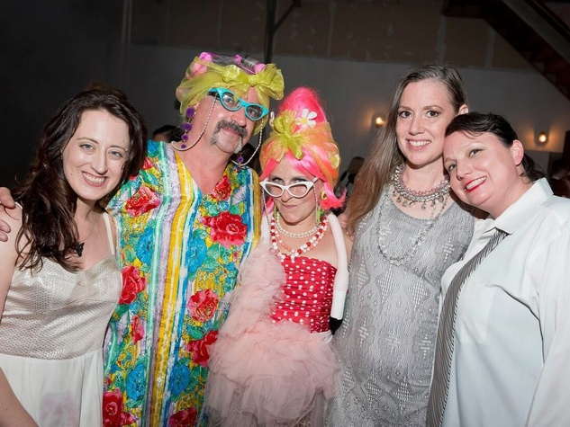 Catastrophic Theatre Drag Ball 2015 Haley Ross, Brad Moore, Camella Clements, Polly Ensminker, Tilly Sherwood