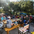 Austin Beer Garden Brewing Co ABGB patio outside seating