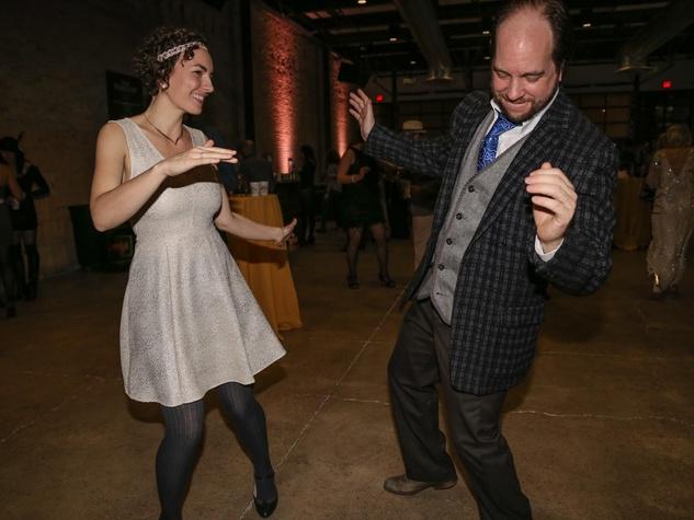 CultureMap Old Forester Bourbon Ball 2016 Dancing