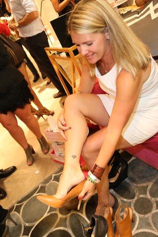 Jenna Jackson at Elaine Turner New York Fashion Week launch party September 2014