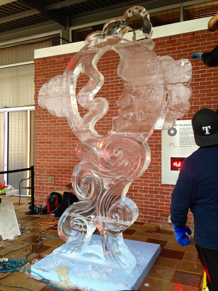 4, Discovert Green, ice carving contest, January 2013, Benjamin from West Palm Beach, Fla