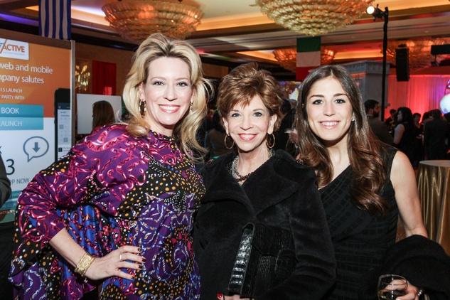 1 Mauri Oliver, from left, Vicki Rizzo and Laura Max Nelson at The Social Book 2015 Launch Party January 2015