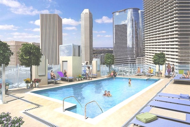 A new luxury apartment building in river oaks is going to for Garden oaks pool houston