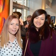 """Lene Haavet, left, and Angie Harlein at the Valvisions Foundation """"Cinema, Canvas & Cuisine"""" March 2015"""