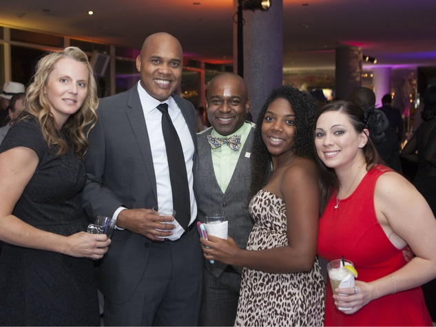 Michelle Gibson, Mike Gibson, Jeff Martini, Tristen Brown, Jamie Boone, Deals and Dreams Casino Party