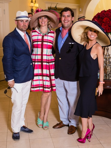 Chris Cummings, Michelle Scott, David Dees, Kelly Cantu, Day at the Races