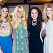 Shannon Yoachum, Lauren Scruggs, Kat Armstrong, Angie Strange, polish fashion show