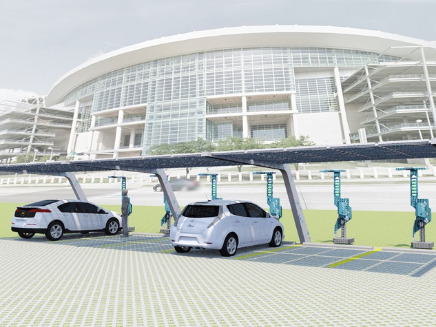 Promoted article Reliant July 2014 eVgo Parking Area