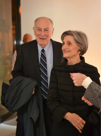 59 Houston Ballet patrons in Paris November 2013 Ted and Melza Barr