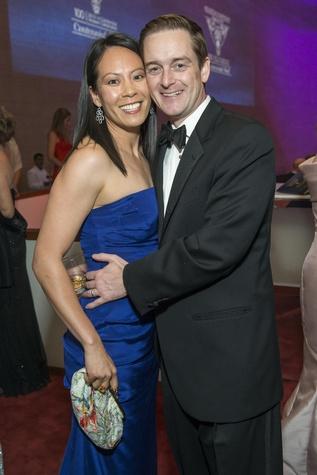 1094 Ting and John Bresnahan at the Houston Symphony Centennial Ball after party May 2014