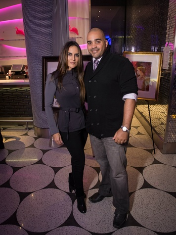 Susie Riggs, Charles Wells at Heart of a Warrior Casino Night