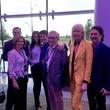 Allen Becker, Brian Becker and Gary Becker celebrating opening of Smart Financial Centre