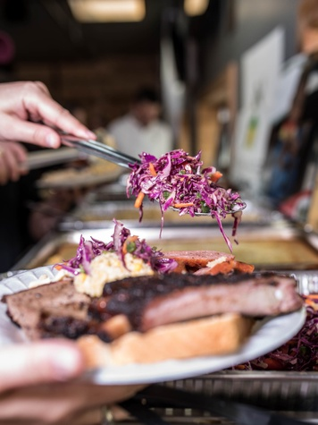 Houston, Homemade Hope BBQ, Beers & Cheers, Nov. 2016, barbecue
