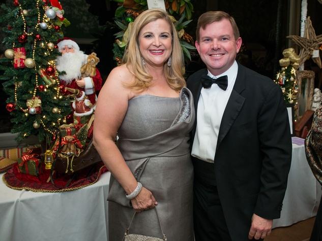 15 DeeDee and Wallis Marsh at the Trees of Hope Gala November 2014