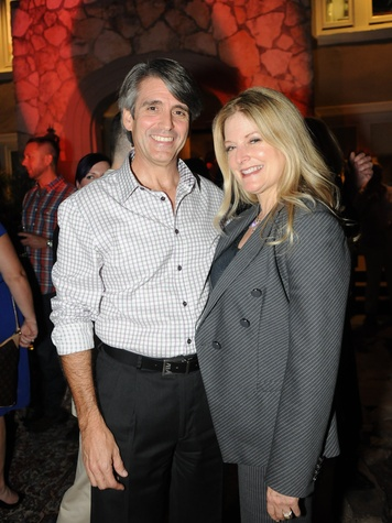 Don and Pamela Russ at the Q The Salon Moroccan theme party September 2013