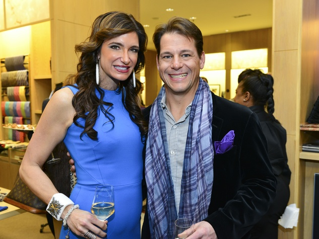 5 Melissa Mithoff and Rocky Mafrige at Dress for Dinner February 2014