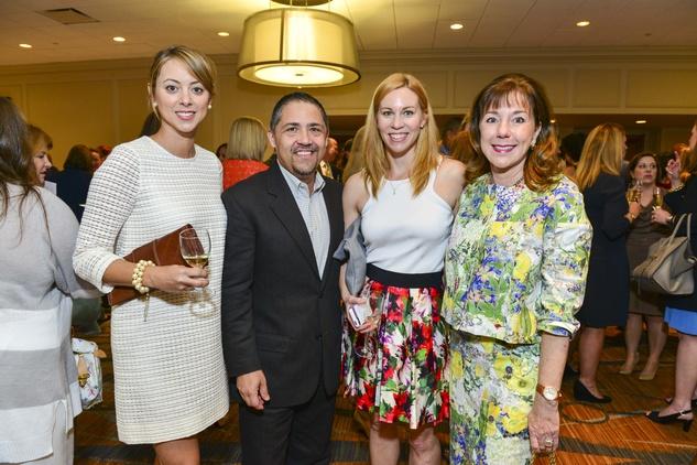 News, Children's Assessment Center luncheon, Lauren Maloy, Bruce Padilla, Allison Flikerski, Elizabeth Stein, April 2014