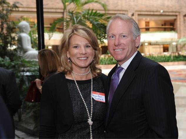 4)Jennifer Staubach Gates and John Gates, United Way Luncheon