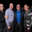Gary Nagler, Cody Bowman, Dennis Murland, Vinh Phan at Charity in Song featuring Book of Mormon cast