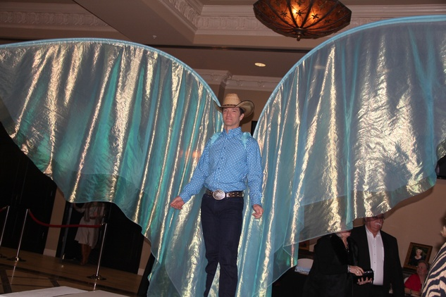 3 Cowboy Angel at the Rodeo Trailblazer Awards Luncheon February 2015