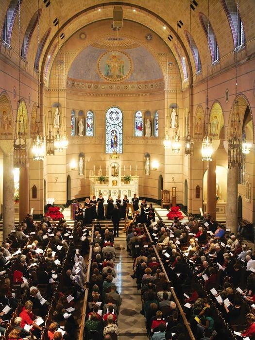 Houston chamber choir 39 s christmas at the villa de matel event culturemap houston - Villa de matel houston tx ...