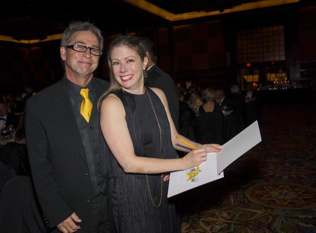 9 Craig and Suzy Minor at the Rice Design Alliance Gala November 2014