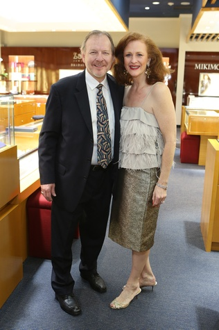Woody Woodruff and Jana Phillips at the Alley Theatre Gala Kick-Off March 2015