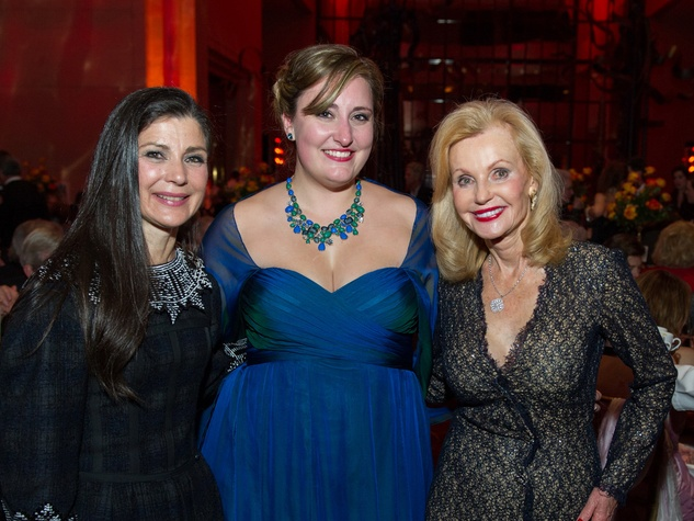 33 Cynthia Petrello, from left, D'Ana Lombard and Pat Breen at HGO Concert of Arias February 2014