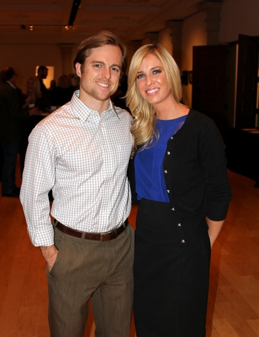 Clay Kelly, Lauren Tollett, mba 8x8 party