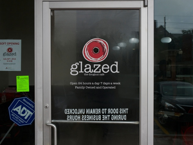 9 Glazed the Doughnut Cafe July 2014