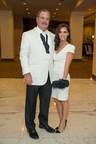 Cal McNair, Hannah McNair at Mission of Yahweh gala