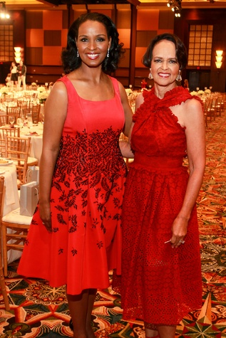 Best Dressed Luncheon, March 2016, Winell Herron, Gayla Gardner