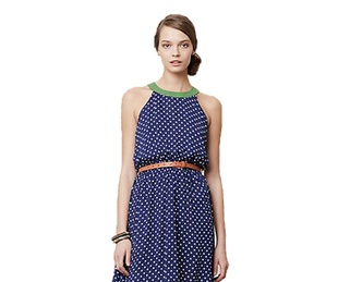 anthropologie lark high-low dress