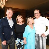 Cafe Annie 35th anniversary, 6/16, Lonnie Schiller, Candyce Schiller, Mimi del Grande, Robert del Grande
