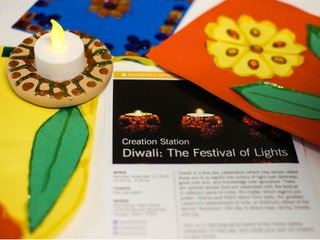 Asia Society Texas Center presents Creation Station: Diwali: The Festival of Lights