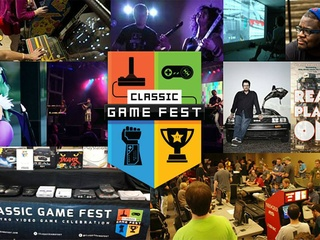poster collage Classic Game Fest presented by Game Over Video Games