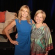2745 Brené Brown, left, and Mariel Hemingway at the Menninger Luncheon May 2014