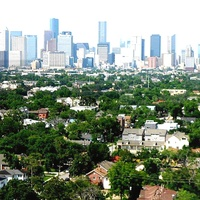 Houston, Highrise apartment views_May 2015, The Parklane