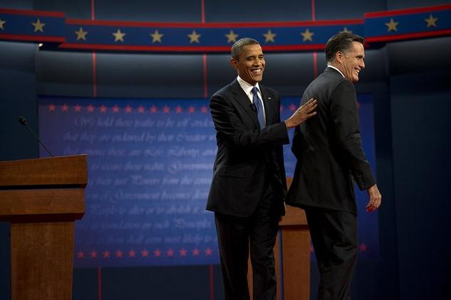 Austin Photo Set: News_Karen_debate recap_oct 2012_obama_romney