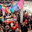 2 the crowd at the Lawndale Gala and Retablo Silent Auction October 2013